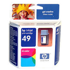 Cartridge HP 51649ne Inkjet color, 11ml, original.